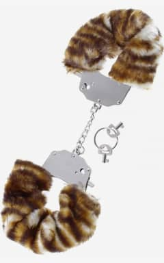 Pipedream Furry Love Cuffs - Leopard