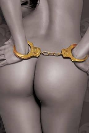 Pipedream FF gold - cuffs