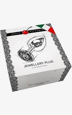 Analplugs Jewllery S Gold/Diamond 3 cm