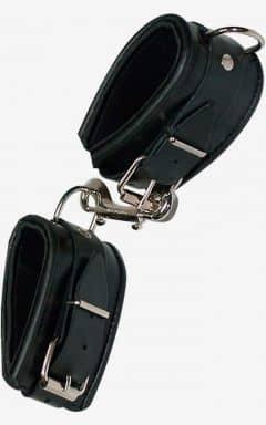 Handschellen & Fesseln Leather Cuffs Padded