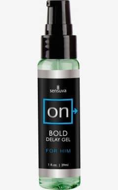 Verzögern Sensuva - Bold Delay Gel - 29 ml