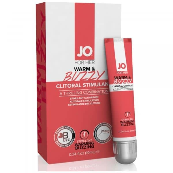 System Jo - Clitoral Stimulant Warm and Buzzy 10ml