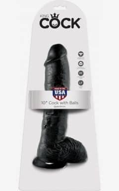 Dildos mit Saugnapf  King Cock Cock With Balls 25 cm