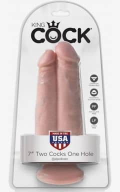 Doppeldildos King Cock Two Cocks One Hole