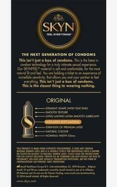 Kondome Skyn Condoms Original 10-pack