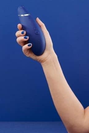 Druckwellenvibratoren Womanizer Premium Blueberry