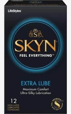 Kondome Skyn Condoms Extra Lube 10-pack