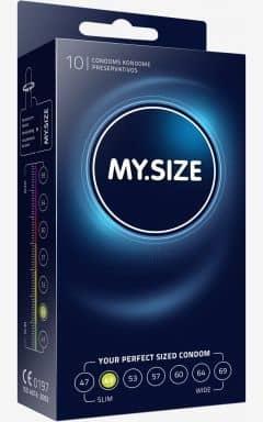 Kondome My Size Kondom 49 mm - 10-pack