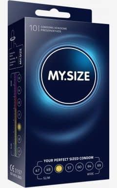 Kondome My Size Kondom 53 mm - 10-pack