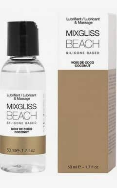 Gleitgel MIXGLISS Silicone Beach Coconut 50ml