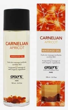 Massage Exsens - Organic Massage Oil w. Stones Apricot
