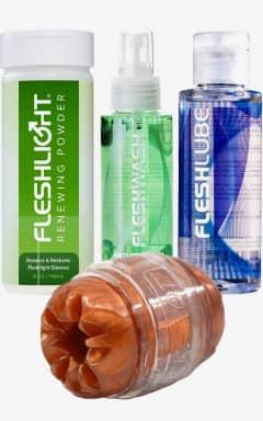 Fleshlight FLeshlight quickshot + lube + clean