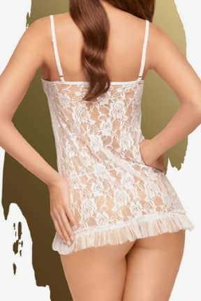 Dessous Penthouse Flawless Love white
