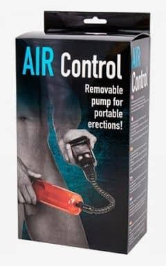 Penispumpen Air Control - Röd