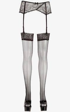 Dessous Stockings med spetskant