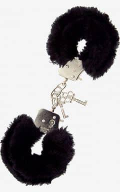 Pipedream Furry Love Cuffs - Svart