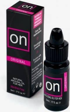 Verstärken ON Natural Arousal Oil - 5 ml